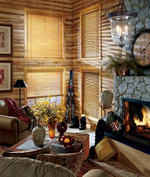 Log Home Window Treatment Ideas Ehow