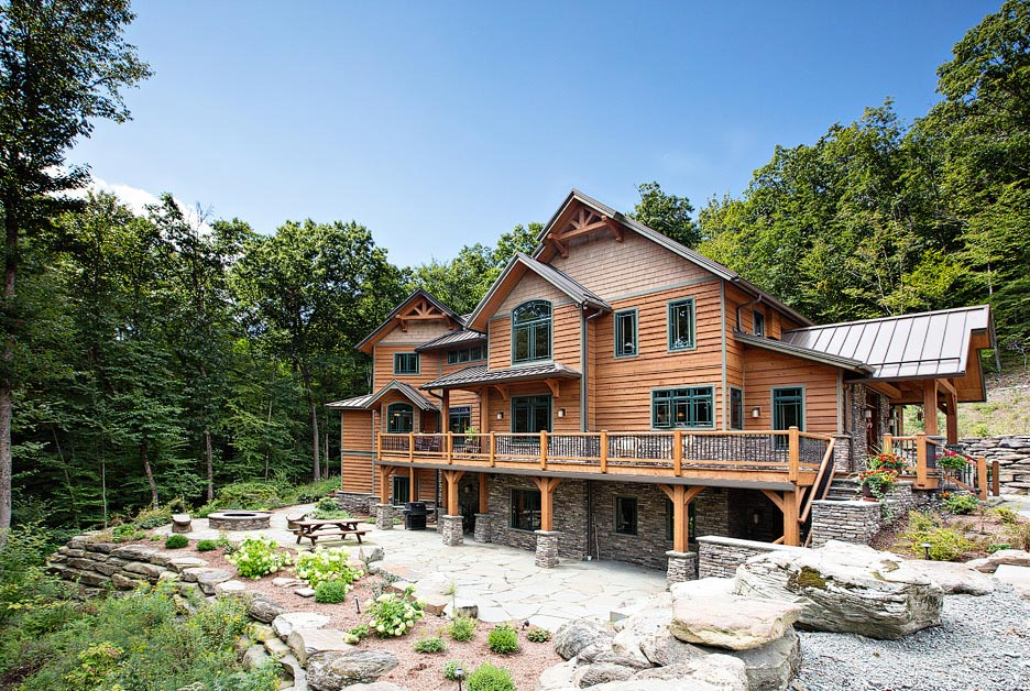 beaver Mountain log homes