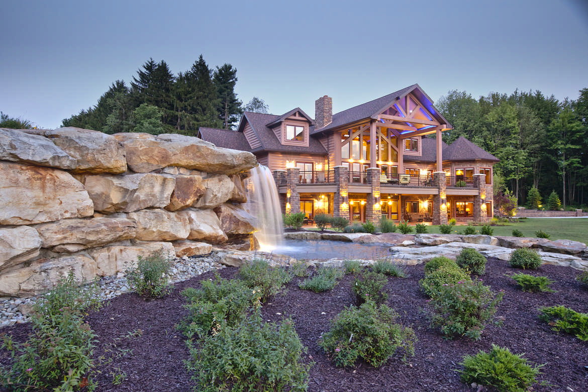 Wisconsin log homes for Wisconsin log cabin