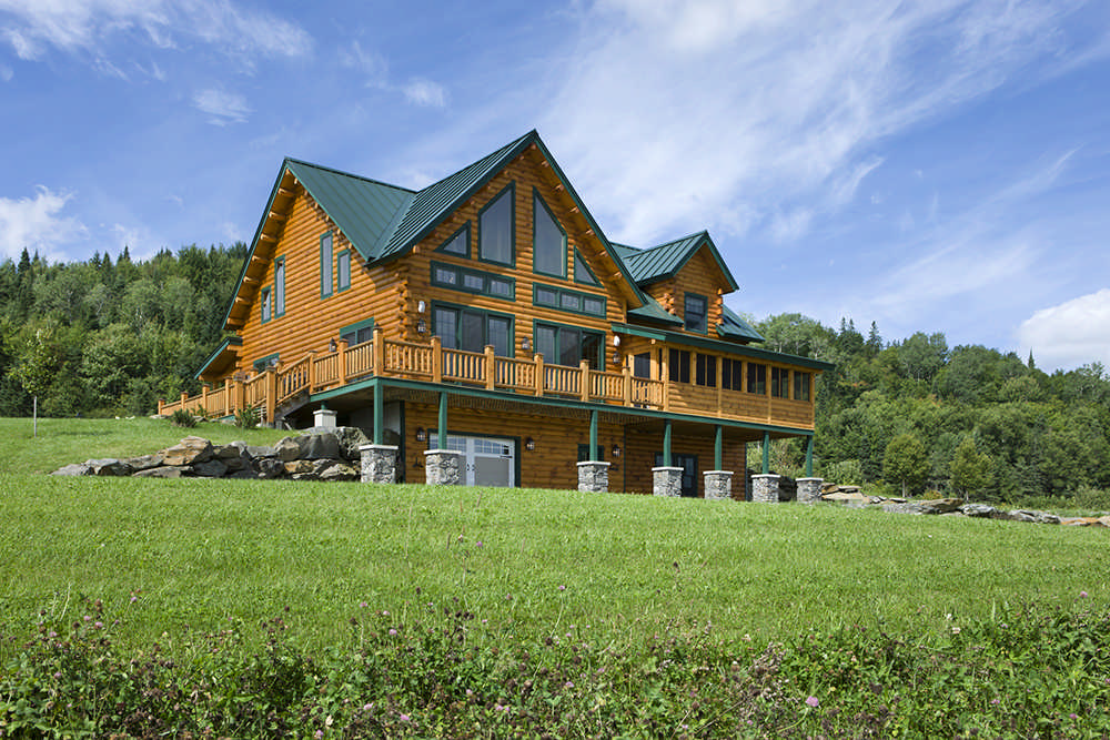 Coventry log homes inc for Coventry home builders