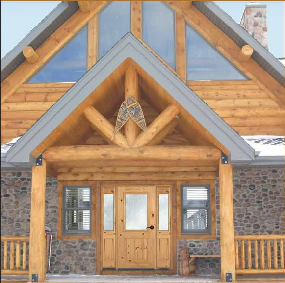 timber valley millwork front entry