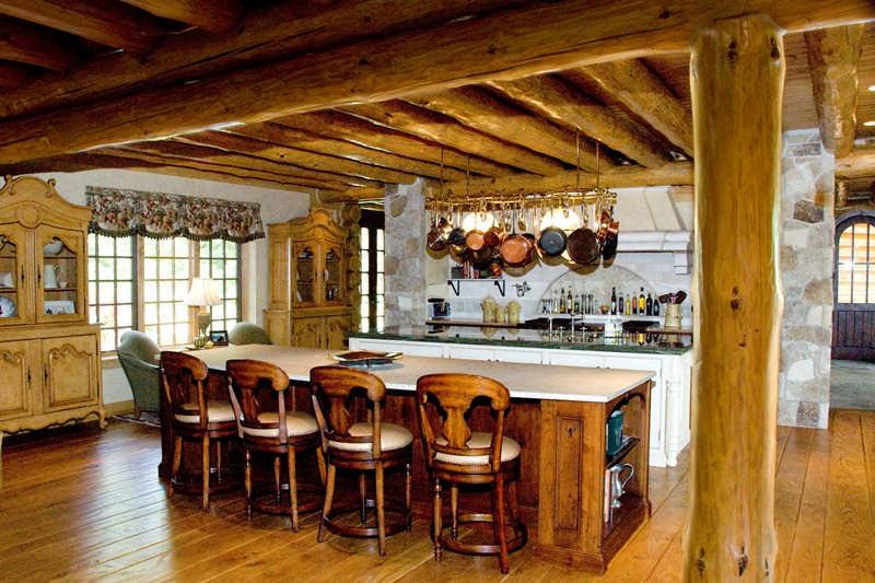 Pine+full+log+house+2
