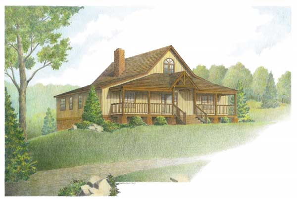 Hybrid timber frame house plans archives page 11 of 11 for Timber frame hybrid house plans