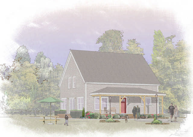 Classic Barn 5 Timber Plan by Davis Frame Co. - MyWoodHome.com