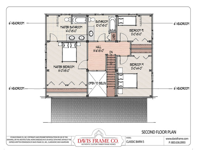 Classic Barn 5 Timber Plan By Davis Frame Co