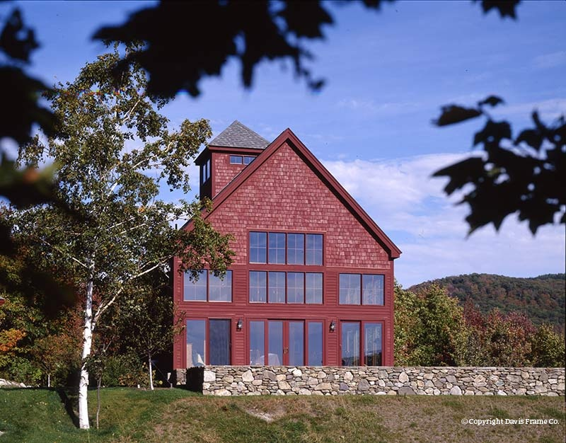classic barn 1a timber plandavis frame co. - mywoodhome