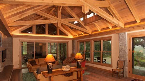 Texas Timber Frames Mywoodhome Com
