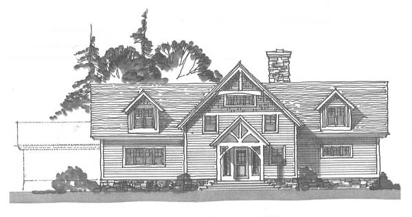 Sierra Timber Frame Floor Plan by Timberpeg - MyWoodHome.com
