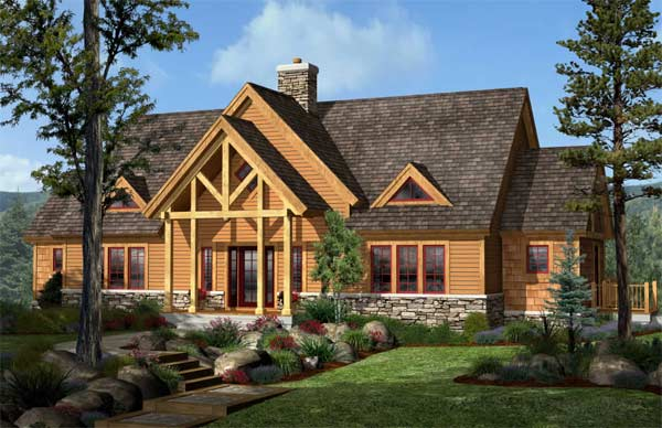 SummitView By Woodhouse The Timber Frame Company