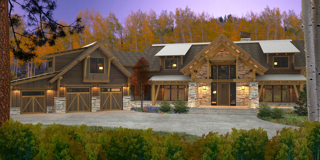 The elk river floor plan by canadian timberframes ltd for Canadian cabin plans