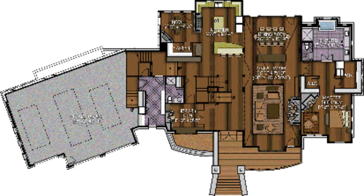 The dakota ridge floor plan by canadian timberframes ltd for Dakota floor plan