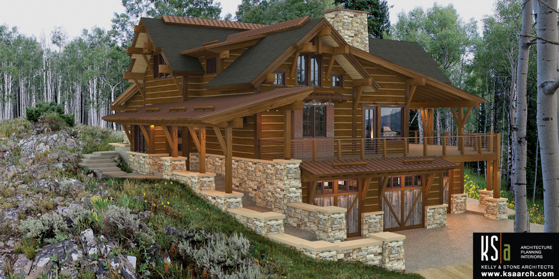The rock haven floor plan by canadian timberframes ltd for Luxury timber frame house plans