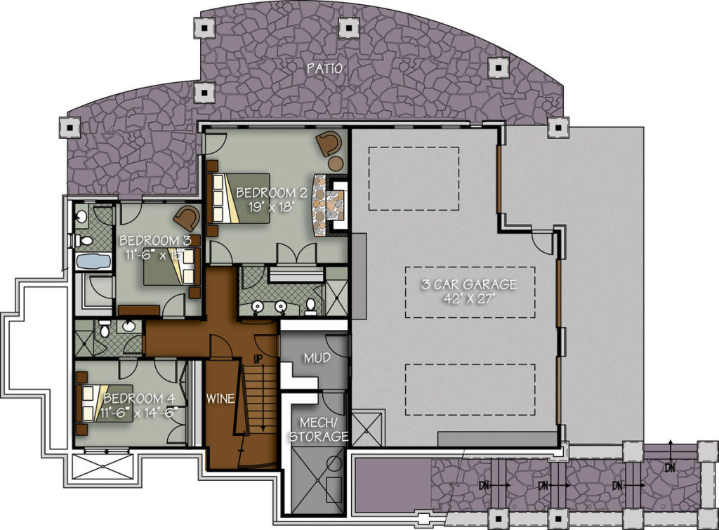 The Rock Haven Floor Plan By Canadian Timberframes Ltd