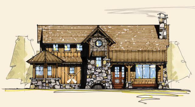 Mallard b design home floor plan