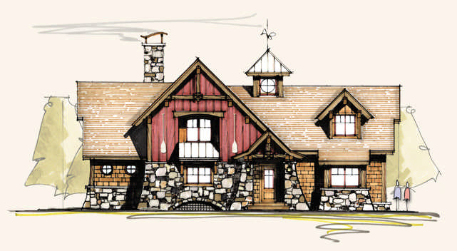 Pintail Home Plan By Mosscreek Designs