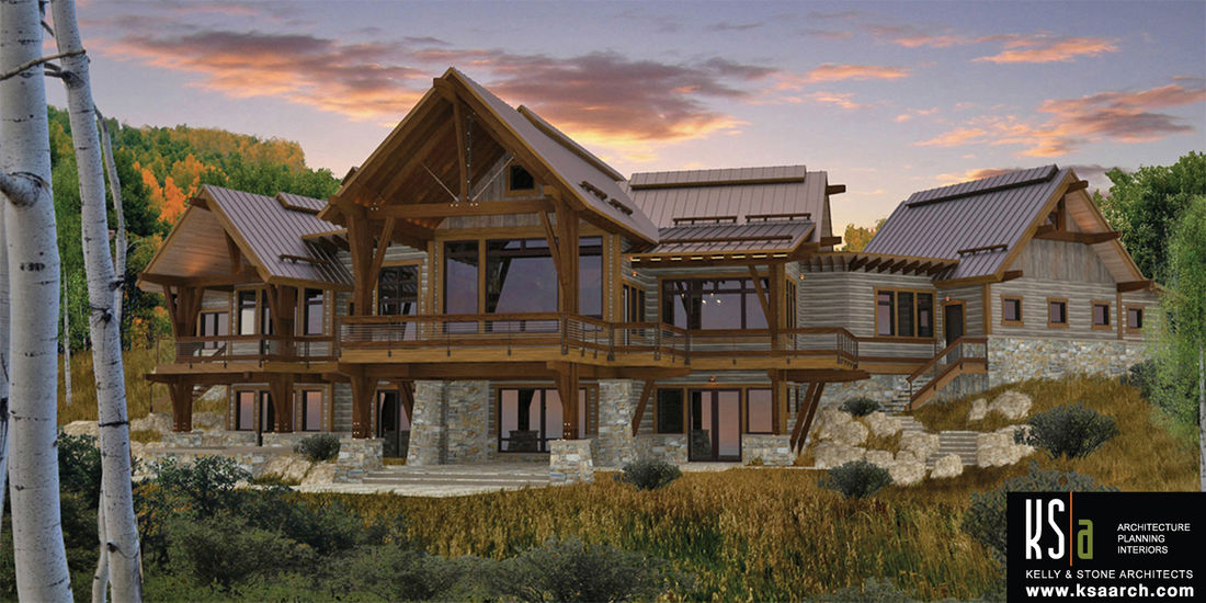 The spanish peaks floor plan by canadian timberframes ltd for A frame house plans canada