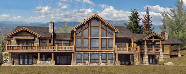 Luxury timber frame house plans archives page 4 of 7 for Luxury timber frame house plans