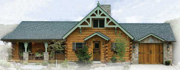 Log Home Ranch Plans Home Design And Style