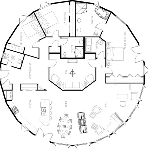 deltec homes floor plans archives mywoodhome com the 23 best circular home floor plans house plans 22021