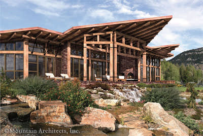 Modern And Contemporary Timber Frame House Plans Archives
