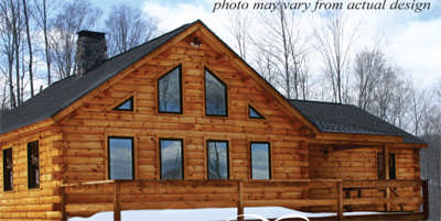 Deerfield Ranch Home Plan By Coventry Log Homes Inc