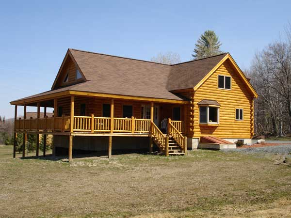Memphis Log Home Plan By Coventry Log Homes Inc