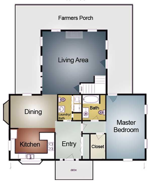 Memphis log home plan by coventry log homes inc for Memphis plan