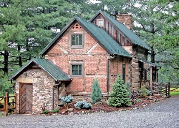 Barn garage floor plans for Moss creek house plans