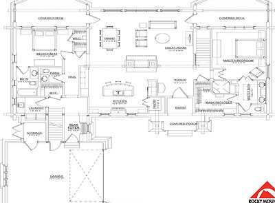 Rocky Mountain Log Homes Floor Plans Archives