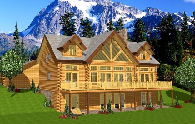 Hilltop Log Timber Homes Floor Plans Archives
