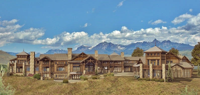 grand teton estate luxury floor plan by wisconsin log homes 25 best ideas about large house plans on pinterest