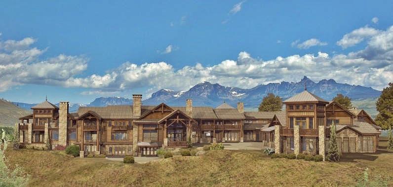 Grand Teton Estate Luxury Floor Plan By Wisconsin Log Homes