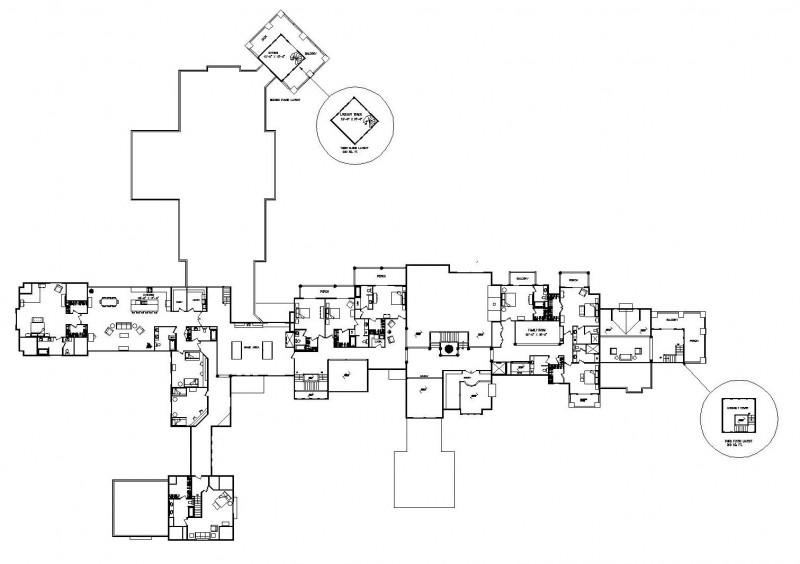 Grand teton estate luxury floor plan by wisconsin log homes for Grand homes floor plans