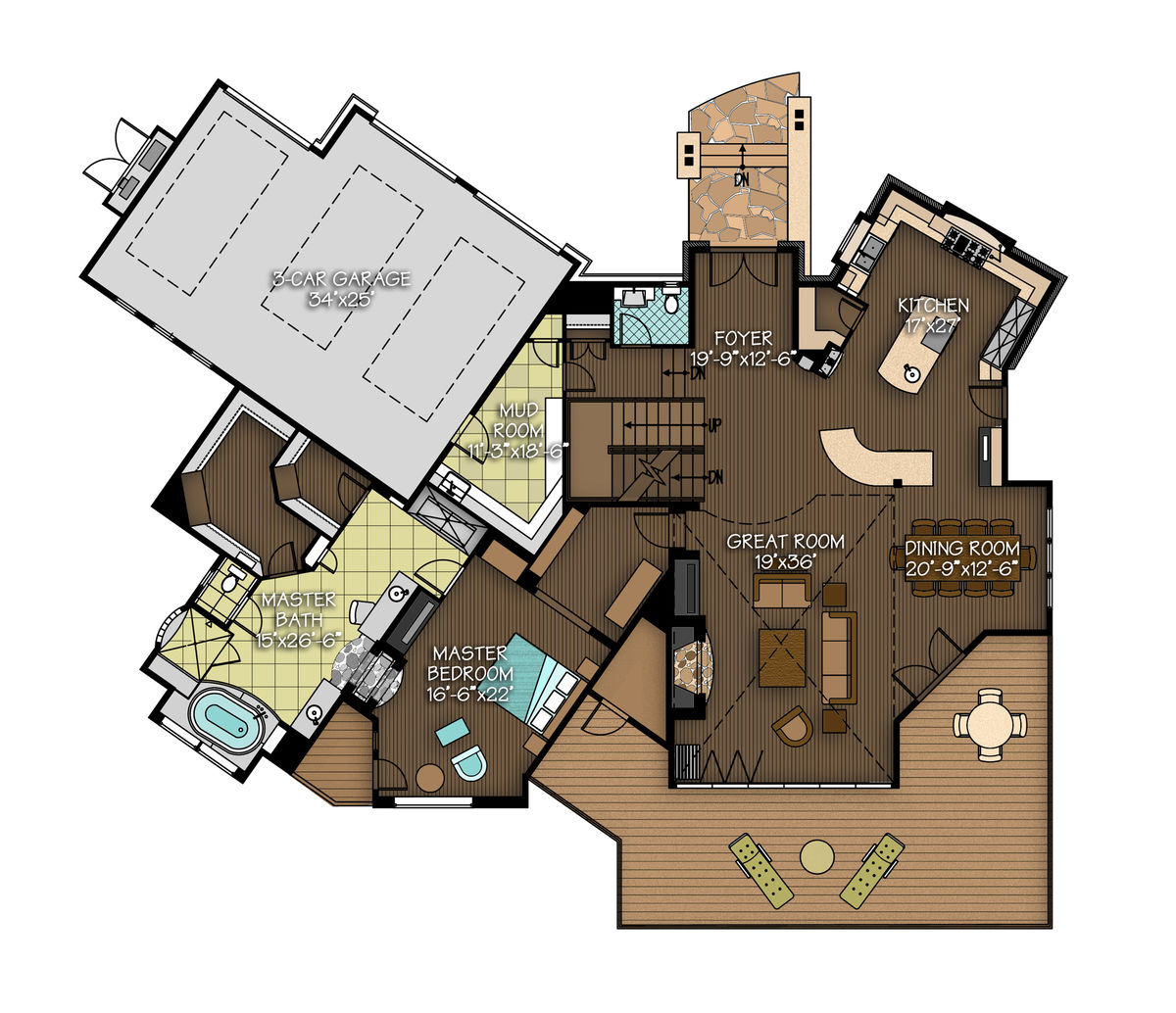 The aspen peak floor plan by canadian timber frames ltd for Aspen homes floor plans