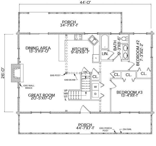 Charleston Home Plan