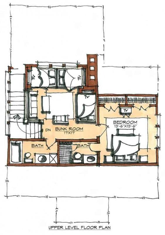 Skillet Camp Home Plan House Design Plans