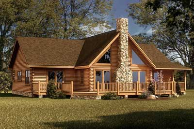 Southland Log Homes Floor Plans Archives - MyWoodHome.com