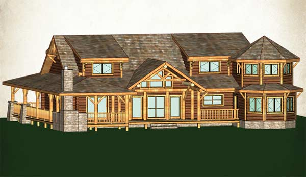 Grand sequoia lodge plan for Clearbrook lodge