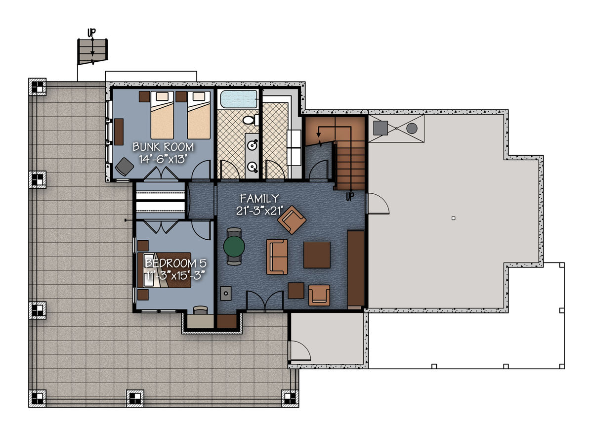 Crested butte floor plan by canadian timber frames ltd for Timberframe plans