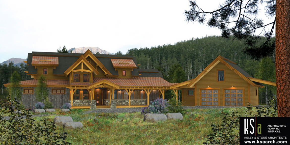 The kalispell floor plan by canadian timber frames ltd for A frame house kits canada
