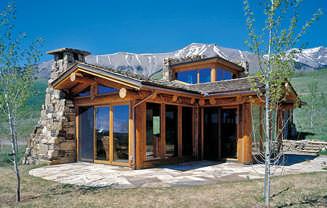 Log Home Cabin Floor Plans - Modern log cabin homes