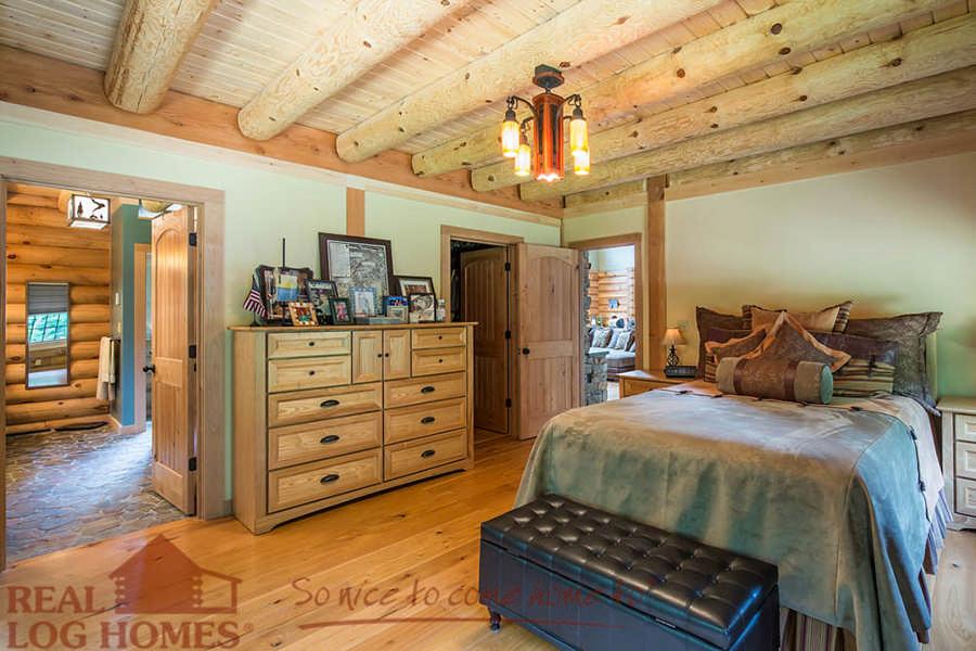 Big River Lodge Floor Plan By Real Log Homes