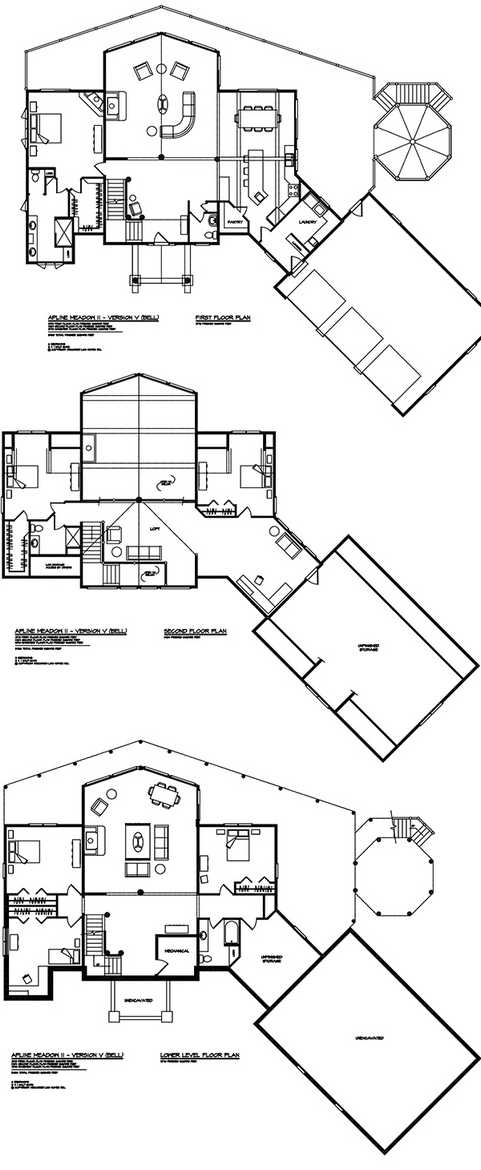 Alpine meadow ii home floor plan by wisconsin log homes for Alpine house plans