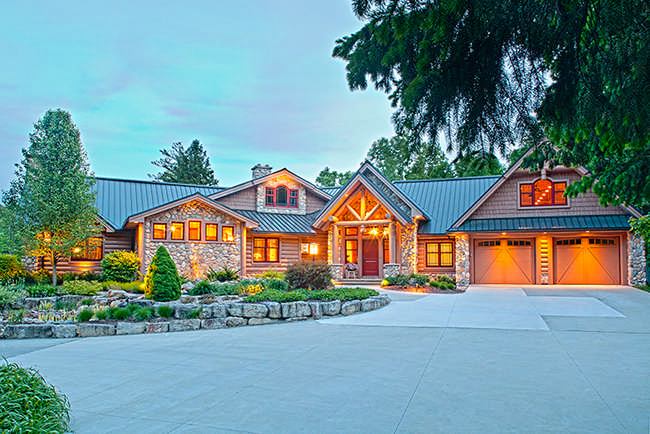 Boulder Ridge Log Home Floor Plan By Wisconsin Log Homes