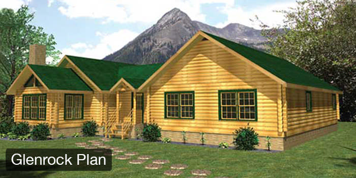 Log Home Cabin Floor Plans