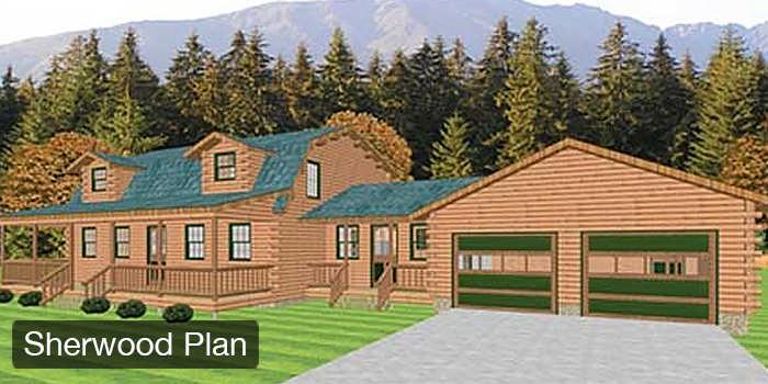Log Home & Cabin Floor Plans
