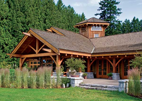 Luxury log homes archives for Luxury timber frame home plans