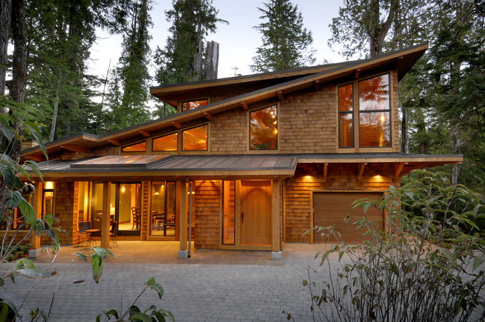 Hybrid Log House Plans Archives - MyWoodHome.com