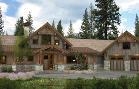 House plans for timber frame homes