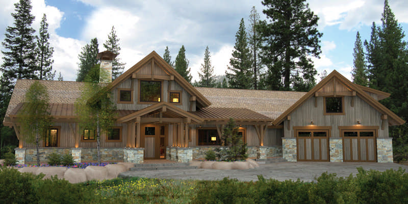Bragg creek floor plan by canadian timber frames ltd for Canadian cabin plans